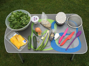 Ingredients for the kedgeree